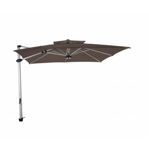 Laterna zweefparasol 300*300cm. taupe