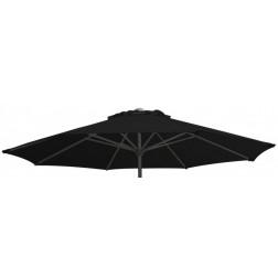 Parasol Fabric Teatro Black (270cm round)