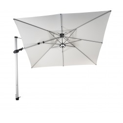 Fratello Pro cantilever parasol Pearl White (300*300cm)