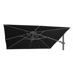 Parasol Fabric Fratello Black (300*300cm)