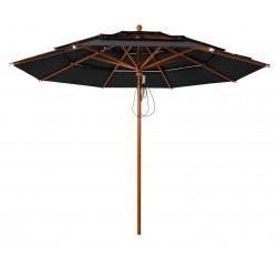 Lasagna Pro parasol Black (ø330cm)