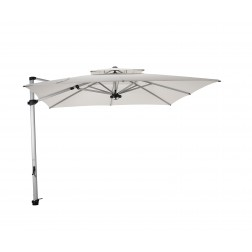 Laterna Pro cantilever parasol Pearl White (300*300cm)