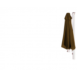 P7 wall parasol Taupe  (ø350cm)