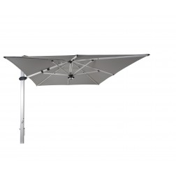 Palestro Pro cantilever parasol Platinum Grey (300*400cm)