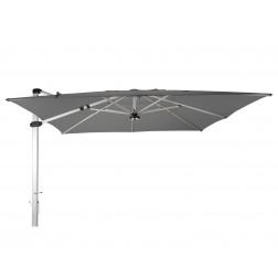 Palestro Pro cantilever parasol Platinum Grey (400*400cm)