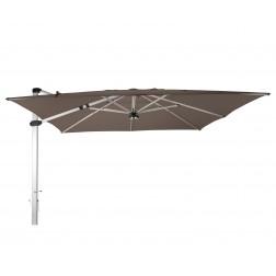 Palestro Pro cantilever parasol Taupe (400*400cm)