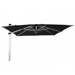 Palestro Pro cantilever parasol Black (400*400cm)
