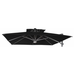 Parasol Fabric Laterna Black (300*300cm)